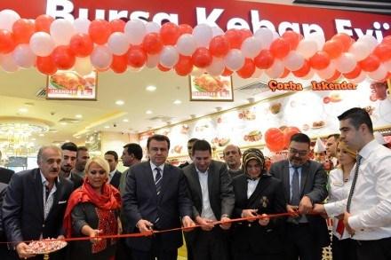 Bursa Kebap Evi'nin 45. Şubesi Kahramanmaraş'ta Açıldı