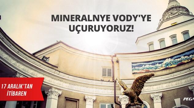 Pegasus, İstanbul – Mineralnye Vody Seferlerini Başlatıyor