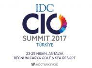 8. IDC Türkiye CIO Zirvesi Antalya'da Gerçekleşecek