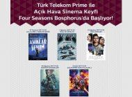 Türk Telekom, Prime Müşterilerine Açıkhava Sinema Keyfi Yaşatacak