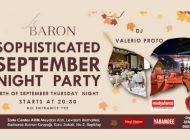 Le Baron Zorlu Center'da 'Sophisticated September Party""