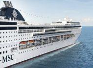 MSC Lirica Gemisi 2018 Yazında Doğu Akdeniz Sularında