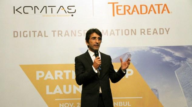 Teradata ve Komtaş Arasında Türkiye Operasyonları İçin İşbirliği