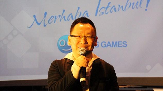 Oasis Games CFO'su Tim Luo