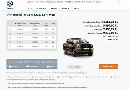 Volkswagen Ticari Araç'ın Web Sitesi Yenilendi