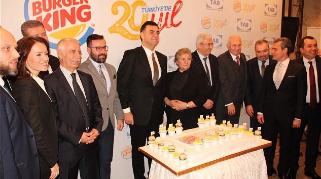 Burger King, Türkiye'deki 20. Yılını Kutluyor