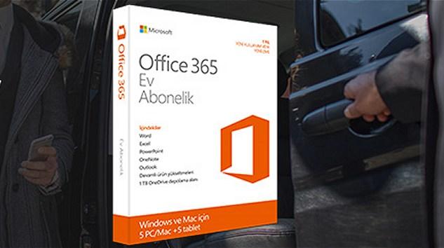 Office 365 Satın Alanlara Uber'den Avantaj