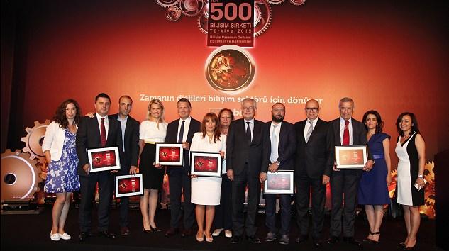 Bilişim 500 Ödül Töreni Gerçekleşti