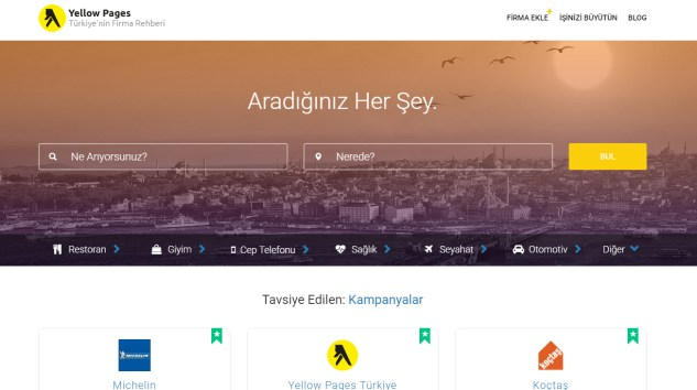 Yellow Pages Türkiye, Firma Rehberi Robotu RehberBot'u Hayata Geçirdi