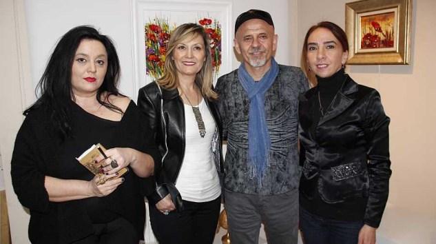 Hikmet Çetinkaya Kişisel Resim Sergisi Mor Kaftan'da Sanatseverleri Bekliyor