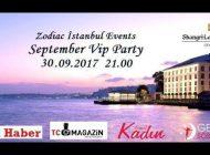 "Zodiac İstanbul Events'den ""September VIP Party"""