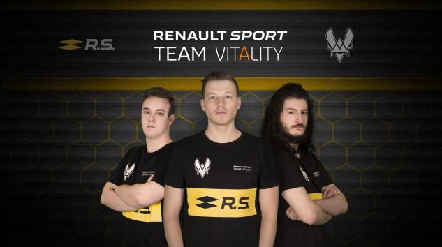 Renault, e-Spor Dünyasına Team Vitality İle Adım Attı