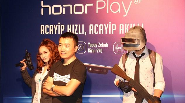 Honor Play Oyun Tutkunları İçin Geliştirildi