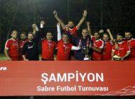 Etstur, Sabre Futbol Turnuvası'nın Şampiyonu Oldu