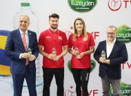 Kuzeyden, Türkiye Voleybol Federasyonu Resmi Su Sponsoru Oldu
