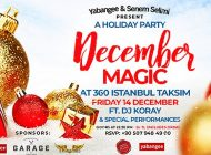 Eğlence Severler December Magic Party'de Buluşuyor