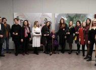 """""""Kadının Sanata Yansıması"""" Sergisi Ziyarete Açıldı"""
