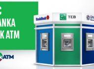 Üç Bankanın ATM'leri Artık Tek ATM