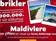 Ücretsiz Maldivler Tatiline 130 Bin Kişi İnandı