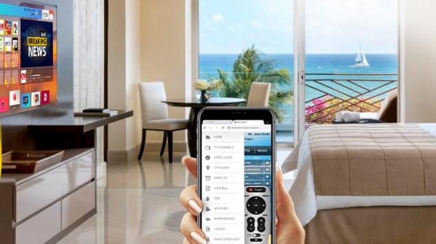 Otellerde Temassız Mobil İletişim Dönemi